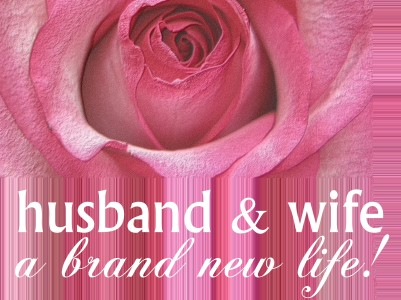 Husband & wife, brand new life