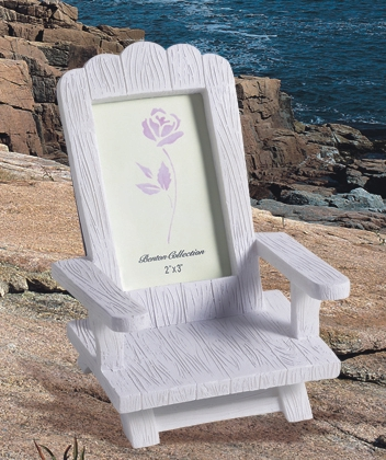 Wedding Favors: Beach wedding favor, adirondack place card frame ...
